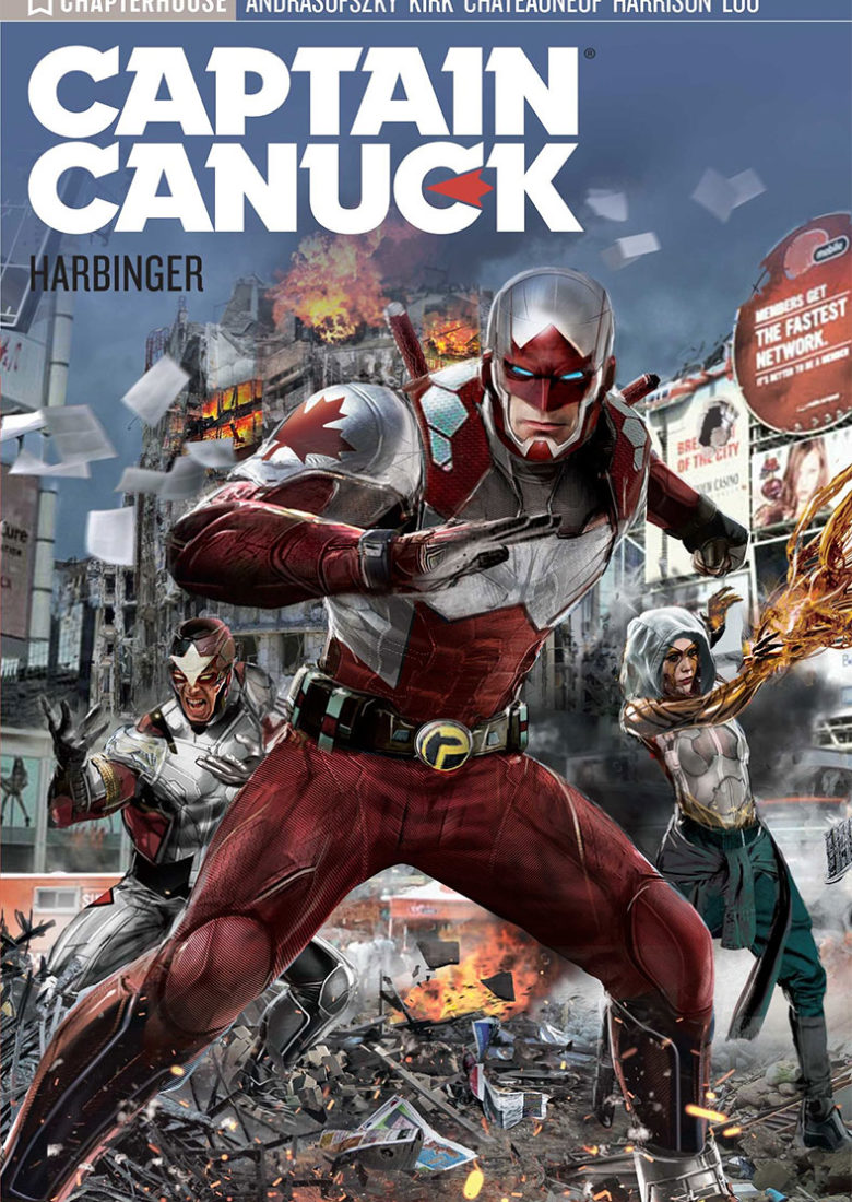Captain Canuck Season 3: Harbinger